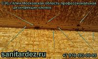 СЭС г. Клин Московская область профессиональная дезинфекция клопов